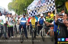 Capai 8 Ribu Peserta, Sepeda Nusantara Bireuen Panen Pujian - JPNN.com
