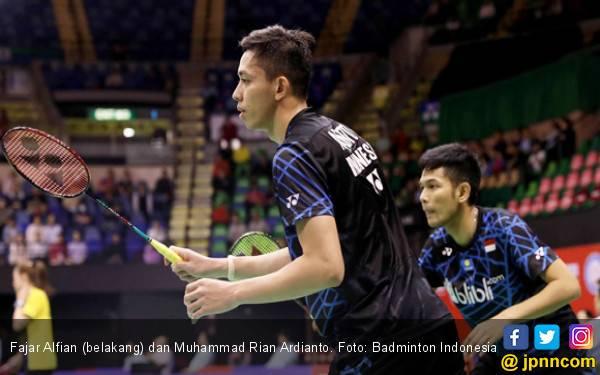 Fajar / Rian dan Hafiz / Gloria ke 16 Besar Hong Kong Open - JPNN.com