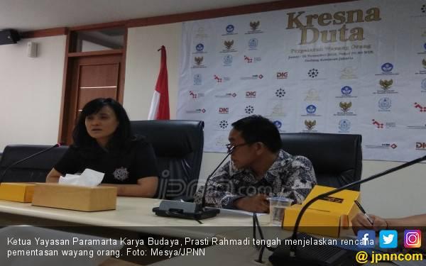 Kemendikbud Bawa Wayang Orang ke Jerman - JPNN.com