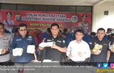 Poldasu Gagalkan Peredaran 32 Kg Sabu Milik Napi Lapas Medan - JPNN.com