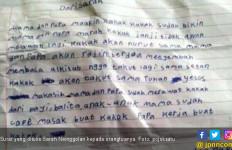Anak Korban Sempat Bikin Surat Permintaan Maaf pada Ibunya - JPNN.com