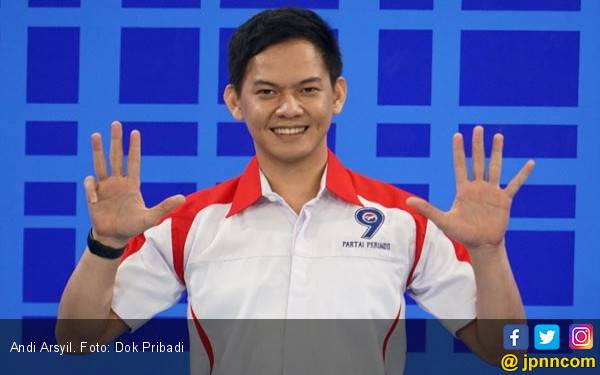 Sapa Netizen, Andi Arsyil Beber Alasan Nyaleg via Perindo - JPNN.com
