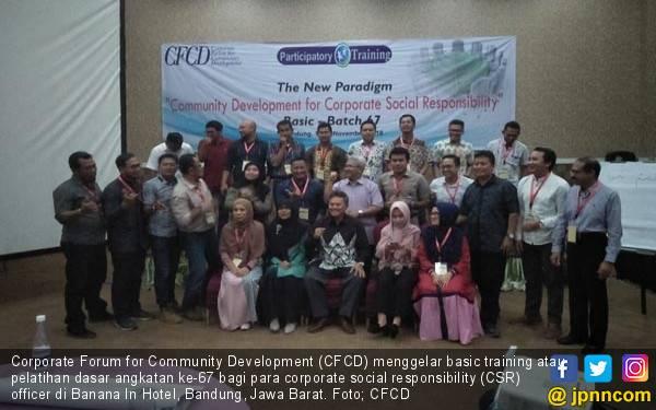 30 CSR Officer dari 17 Perusahaan Ikut Pelatihan CFCD - JPNN.com