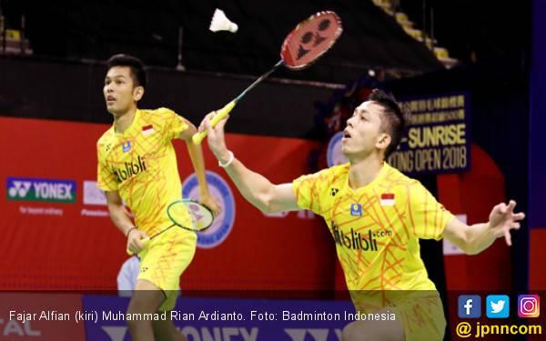 Tembus Semifinal Hong Kong Open, Fajar / Rian: Alhamdulillah - JPNN.com