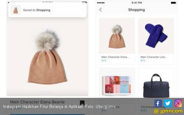 Instagram Kini Hadirkan Fitur Belanja di Aplikasi - JPNN.com