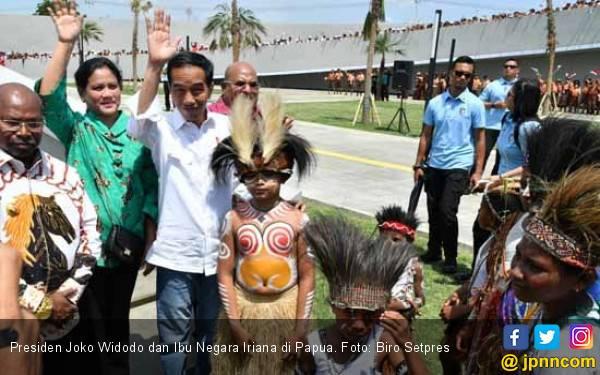 Jokowi Kepada Pace, Mace, dan Mama di Papua: Saya Memahami Perasaan Kalian - JPNN.com