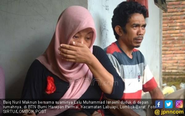 Suami Nuril tak Bisa Membayangkan Istrinya Dijemput Aparat - JPNN.com