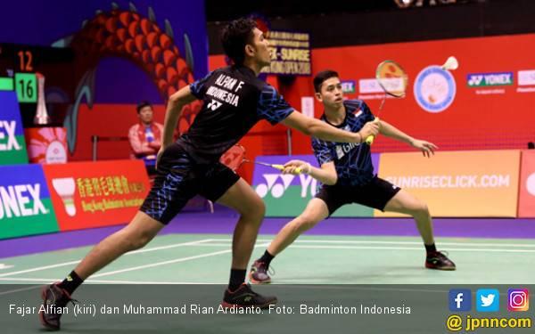 Penyesalan Fajar / Rian Gagal ke Final Hong Kong Open - JPNN.com