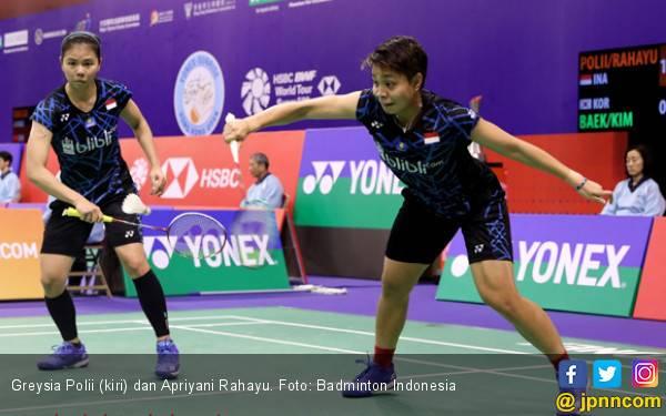 105 Menit! Greysia / Apriyani Menyerah dari Nomor 1 Dunia - JPNN.com