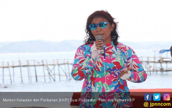 Bu Susi: Gagah Berani Menangkap Kapal Asing Ilegal - JPNN.com