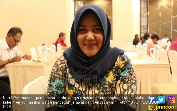 Nurul Olah Daun Kelor jadi Masker Wajah, Omzet Rp 75 Juta - JPNN.com