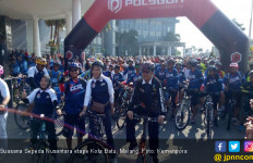 Ribuan Peserta Ramaikan Sepeda Nusantara Etape Kota Batu - JPNN.com