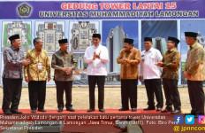 Pujian Presiden Jokowi untuk 106 Tahun Kiprah Muhammadiyah - JPNN.com