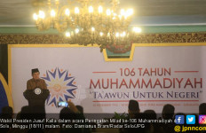Tema Saling Tolong dan Award untuk JK di Milad Muhammadiyah - JPNN.com