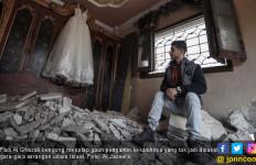 Kisah Cinta Fadi dan Yara Hancur Dibom Israel - JPNN.com