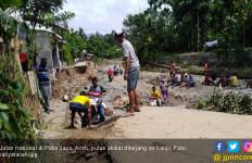 Krueng Putu Meluap, Sejumlah Gampong di Pidie Jaya Banjir - JPNN.com