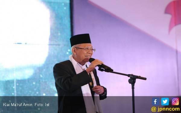 Kiai Ma'ruf Amin Tak Marah Dirinya Diedit Berbaju Sinterklas - JPNN.com