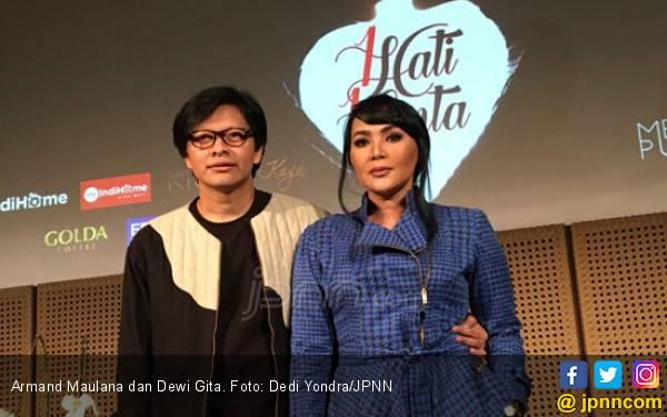 Gegara Ini, Dewi Gita Sempat Mau Gugat Cerai Armand Maulana - JPNN.com