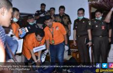 Haris Simamora Si Pembunuh Satu Keluarga Dituntut Hukuman Mati - JPNN.com