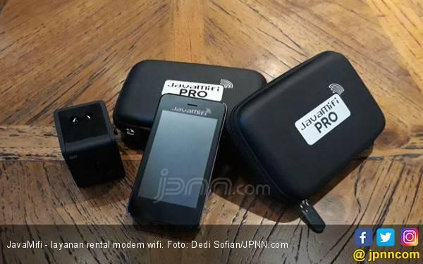 2018, Penyewaan Wifi Sudah Tempuh 13 Kali Keliling Bumi - JPNN.com