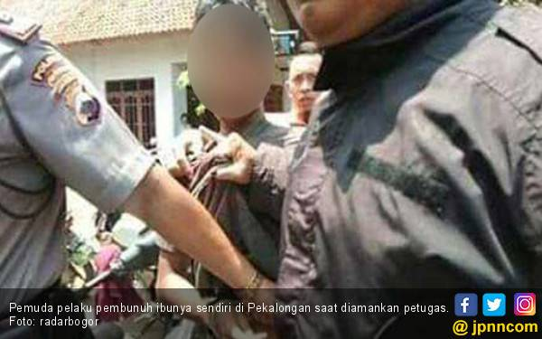 Anak Usia 18 Tahun Bunuh Ibu Kandung Pakai Sabit dan Bendo - JPNN.com