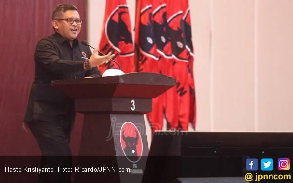 Jokowi - Ma'ruf Unggul, Hasto: TKN Harus Tetap Bergerak - JPNN.com