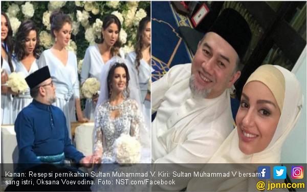 Santer Isu Dicerai Sultan Kelantan, Mantan Miss Moscow Asyik Pamer Foto - JPNN.com