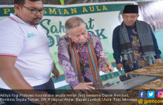 Komunitas Relawan Sejuta Teman Resmikan Aula Sahabat Lombok - JPNN.com