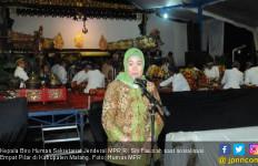 Siti Fauziah: Wayang Kulit Efektif untuk Sosialisasi 4 Pilar - JPNN.com