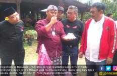 Stupa Berbahan Abu Merapi dari Seniman Borobudur buat Hasto - JPNN.com