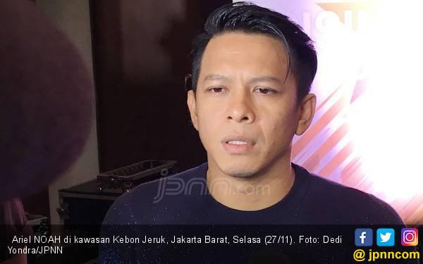 Ariel NOAH Jawab Kabar Kedekatan dengan VJ Laissti - JPNN.com