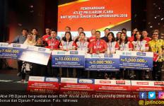 Atlet PB Djarum Berprestasi Diguyur Bonus Ratusan Juta - JPNN.com