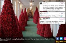 Dekorasi Natal Nyonya Trump Disebut Menakutkan - JPNN.com