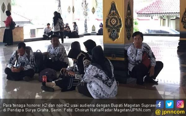 Soal Rekrutmen PPPK 2019, Honorer K2 Sebut Pemerintah Ingkar Janji Lagi - JPNN.com