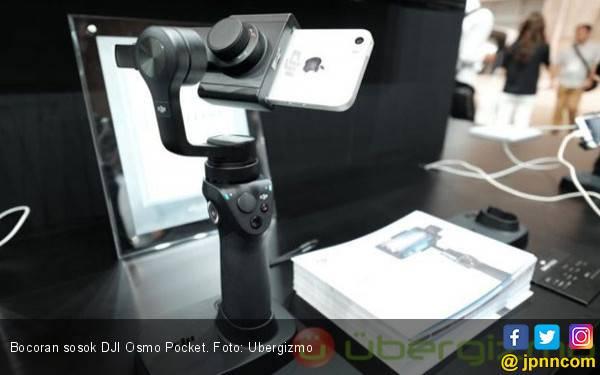 Bocor, Model Baru DJI Osmo Pocket Dibekali 2 Axis Gimbal - JPNN.com