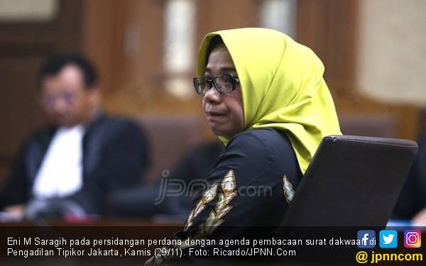 Mulai Diadili, Eni Saragih Didakwa Terima Suap Rp 4,75 M - JPNN.com