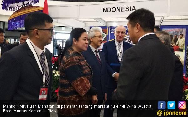 Pameran Manfaat Nuklir di Wina, Menko Puan Promosikan Jamu - JPNN.com