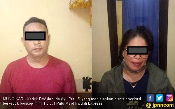 Pasangan Selingkuh Sediakan Prostitusi Berkedok Bioskop Mini - JPNN.com