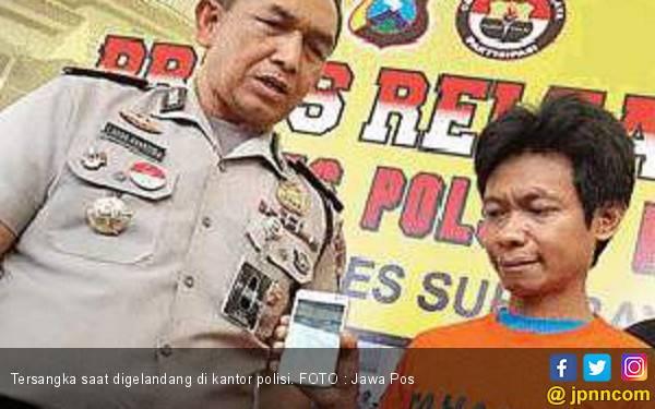 Duh Pak Eko, Nyolong HP Hanya untuk Internetan - JPNN.com