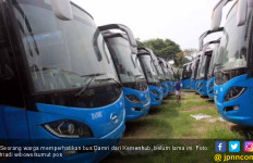 Sejumlah Sopir Bus Damri Mogok Kerja Hari ini - JPNN.com