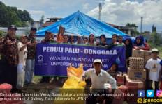 UMB Kirim Bantuan untuk Korban Gempa Tsunami Sulteng - JPNN.com