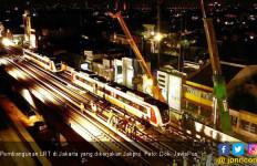 Ditjen Perkeretaapian Kemenhub Lakukan Pengujian Sarana LRT Jakarta - JPNN.com