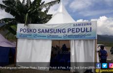 Samsung Beri Servis Gratis Perangkat Elektronik Korban Gempa - JPNN.com