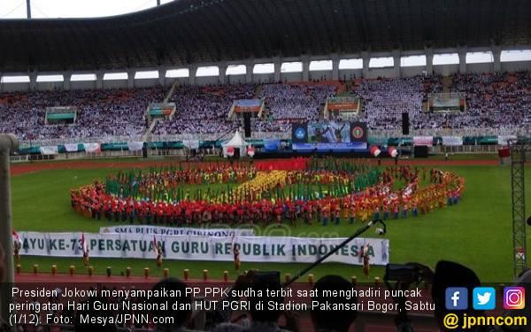 PP Manajemen PPPK, Kado Presiden Jokowi untuk Guru Honorer - JPNN.com