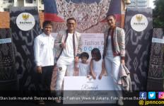 Baznas Pamerkan Pemberdayaan Batik di Eco Fashion Week - JPNN.com