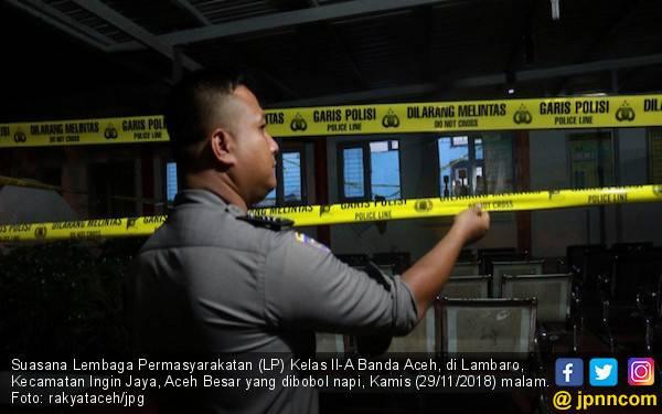Polda Aceh Kerahkan Seluruh Jajaran Polres Gelar Razia Napi - JPNN.com