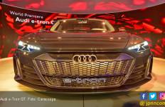 Audi e-Tron GT Hasil Kawin Silang dengan Porsche - JPNN.com