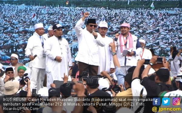 Prabowo Presiden dan Takbir Bersahutan di Haul Habib Kwitang - JPNN.com