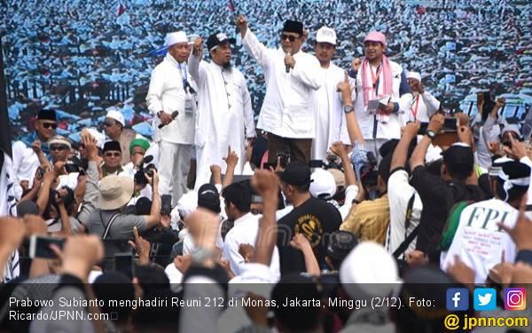 Prabowo Sebenarnya Menolak Berpidato di Reuni 212, tapi.. - JPNN.com