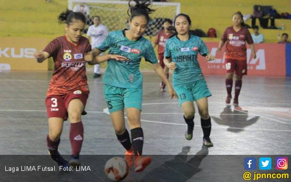 Tim Futsal Putri Usakti Tutup Peluang UBL Raih Juara LIMA - JPNN.com